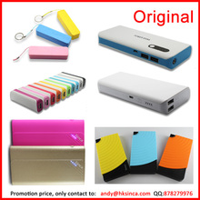 2015 New inventions Sinca brand power bank 5000 mah black portable charger, specialized wholesale china mobile power supply