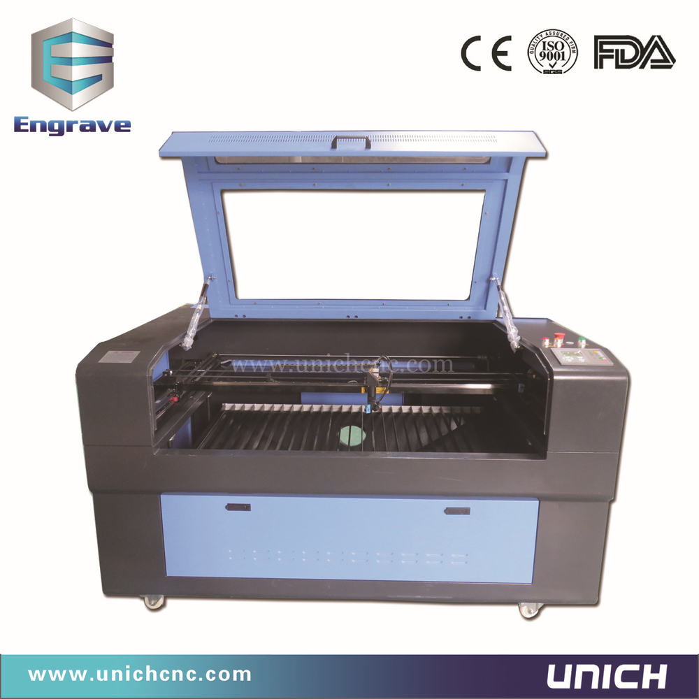 Low cost roll label laser cutter LXJ1290/laser cutting machine price