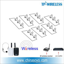 RF Wireless Teacher Microphone Solution to Classroom Audio System