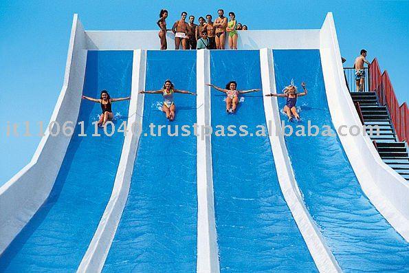 Toboganes y piscinas parques myrtha piscina de agua - Toboganes de piscina ...