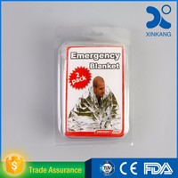 First Aid survival medical kit with emergency blanket CE/FDA