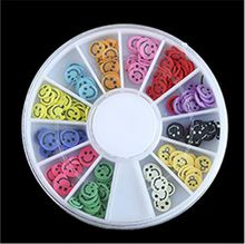 Best selling custom design acrylic rhinestone nail wheel with many colors