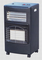 2 in 1 LPG/Electric indoor gas room heater
