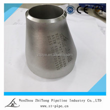Pipe fitting eccentric reducer types factory,schedule 40 steel pipe fittings reducer,a403 wp316/316l pipe fitting reducer