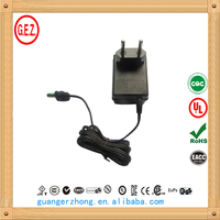 Factory supply dc 9v 9w power adapter