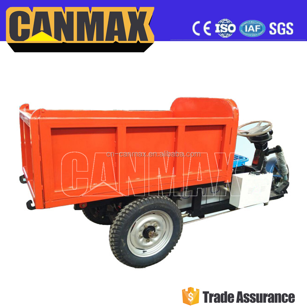 Low investment and high output motorcycle truck 3-wheel tricycle, motorized tricycle in india, truck dumper