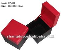 Luxury Leather Jewelry Gift Box with customized