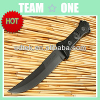 Hot Selling 440 Stainless Steel 57HRC Arab Saber Tactical Knife With Nylon Sheath