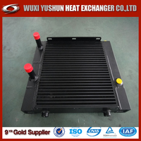 customized diesel engine oil cooler / hydraulic oil cooler for cat