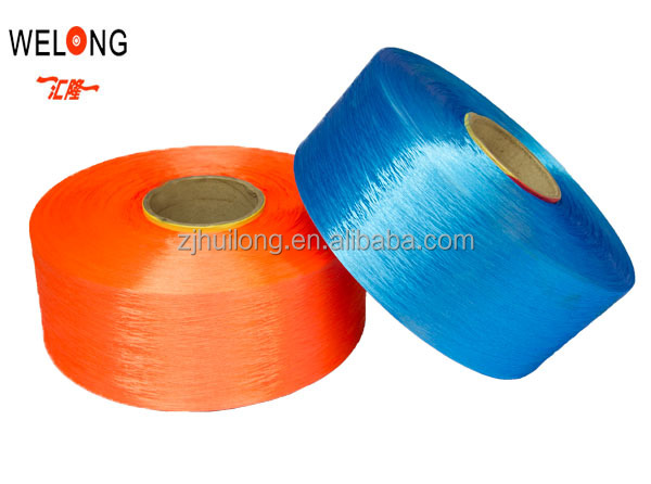 china huilong 100 dope dyed dty 180 polyester yarn for fabric