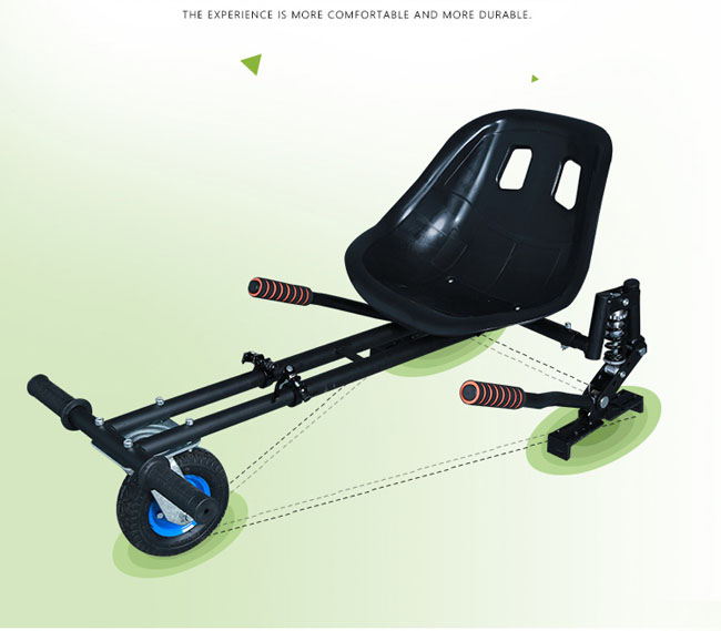 go kart frame bike with two wheel balanced scooter for kids and adult