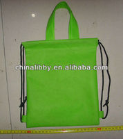 wholesale cotton fabric linen drawstring bag