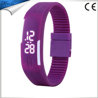 New colorful silicone wrist strap kids watches for women children hours digital bracelet sports LED watch LMW-6