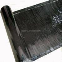 High Polymer Self Adhesive Waterproofing Asphalt Membrane for Pool and Pond