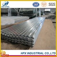 Structural Galvanized Corrugated Metal Roofing Tiles with High Quality