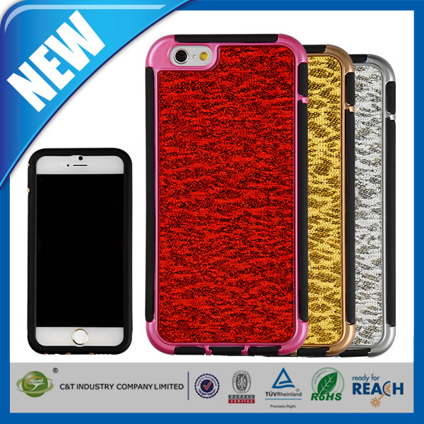 C&T Full Body Dual Layers Hybrid Defender Combo Silicone Case Cover For Iphone 5s