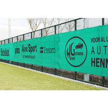 fence banner outdoor