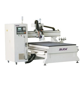 SUDA High Accuracy MG1325 ATC CNC Router machine for cutting and engraving on wood