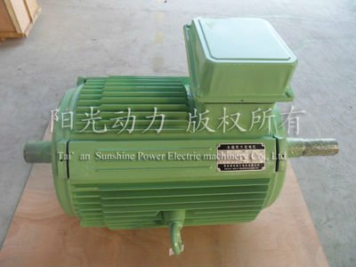 Horizontal Axis Wind Permanent Magnet Generator