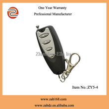 12V Universal Wireless Remote Control, 315MHZ/433MHZ transmitter receiver, garage door remote controller(ZY5-4)