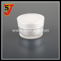 Top Grade SGS Certified Acrylic Face Cream Jar