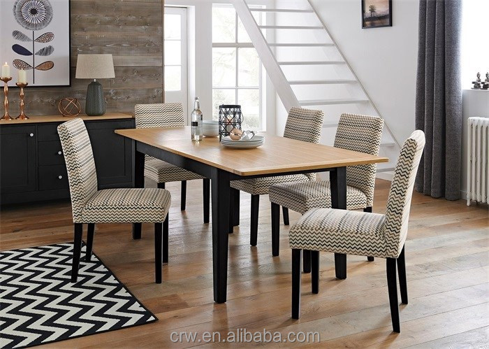 DT-4092 Wooden Long Extendible Dining Table