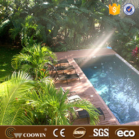 nature core outdoor solid hard wood wpc decking flooring for houses
