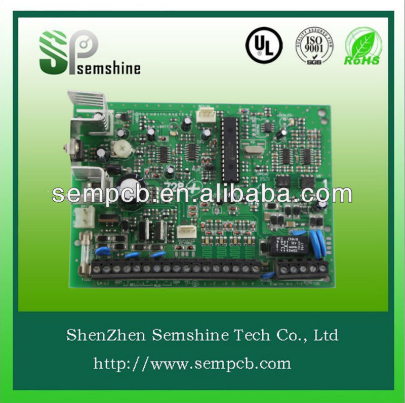 PCB Assembly, Includes SMT Assembly and Auto-insertion Equipment/smd pcba