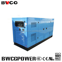 Soundproof enclosed water cooled diesel generator