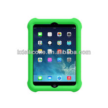 custom silicone case for ipad mini 2 retina shockproof for kids FDA food grade silicone material