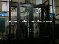 wrought iron security door(fancy iron) made in China