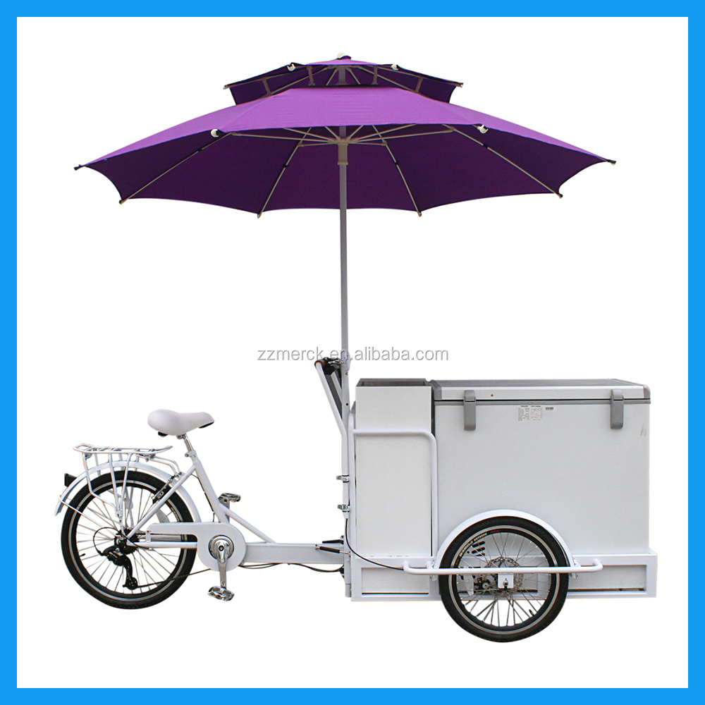 Large Capacity Freezer Storage Box Ice Cream Tricycle Manufacture