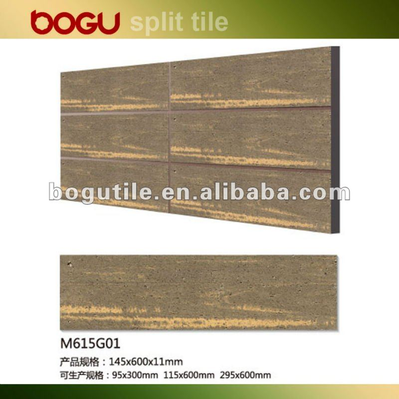 building construction material with wood finish