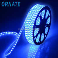 AC 220V 5m 5050 smd 300 flash rgb led strip light waterproof