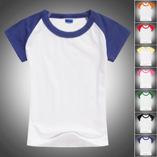 wholesale 100 cotton kids blank raglan t shirt wholesale
