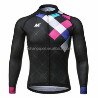 Quick Dry Cycling Clothing Pro Long Sleeve Men Cycling Wear/mtb bike sportswear