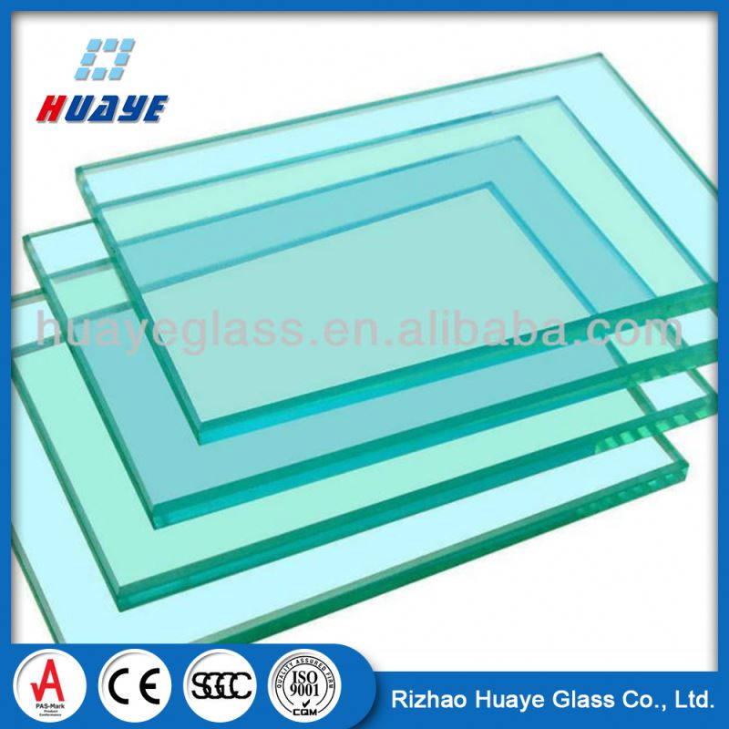 China manufacturer 4mm double pane tempered solar glass