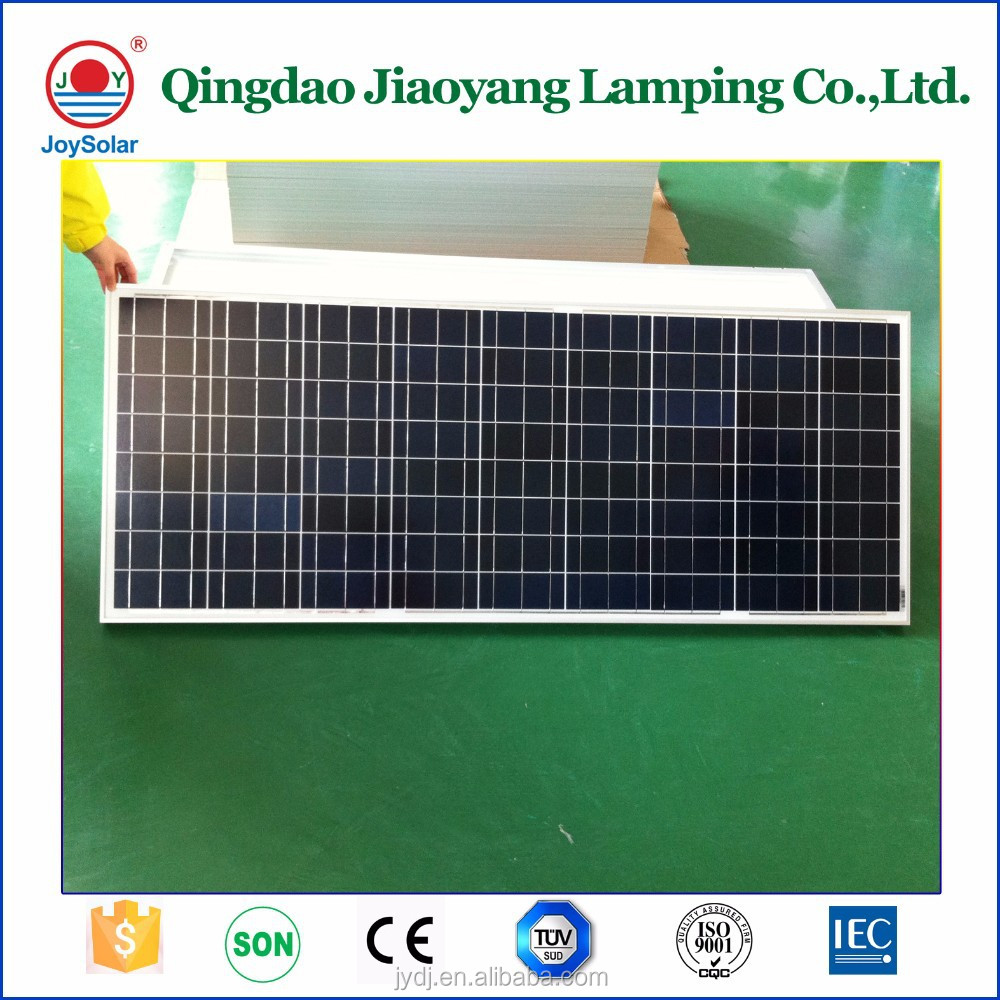 High class 250W semi-flexible monocrystal silicon Solar Panel for car park