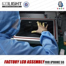 Factory LCD for iPhone 5s Touch Screen Digitizer Assembly+Front Camera+Home Button (Flex Cable)