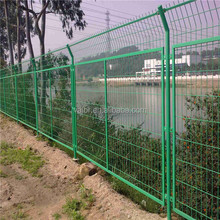 welded wire mesh powder coated fence panels