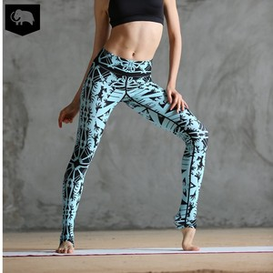 Custom Women Workout Sport Gym Fitness Leggings Tight Yoga Outfit Pants