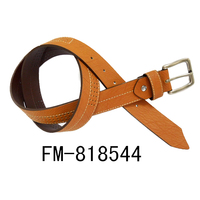 FM Brand Leather Belts With Removable