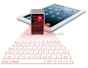 Langder Portable Laser Projection Bluetooth Keyboard for Phone/Tablet/Laptop