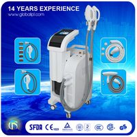 Top level latest 4 in 1 ipl rf nd yag laser elight