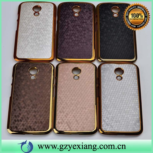 luxury bling plastic mobile phone cover for motorola moto g 3rd gen 2015 smartphone case
