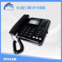 4 line voip wifi phone ip phone adapter