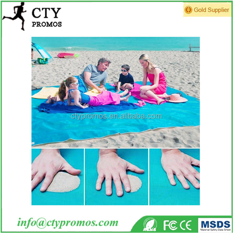2017 New Large Magic Cgear Foldable Sand Proof Free Travel Outdoor Picnic Camping Mattress Magical Sandless Beach Blanket Mat