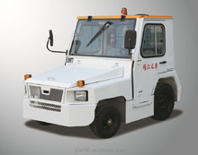 Baggage Towing Tractor with Cabin towing airport tow tractor tow truck electric tow tractor cargo ships for sale