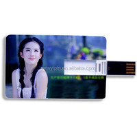 business beauty photo credit card USB flash drive