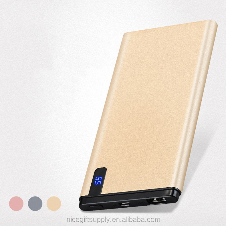 Electronic Digital Products Real Power Mobile Power 10000mAh LCD Display Power Bank